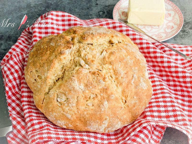 【影片】免揉愛爾蘭蘇打麵包