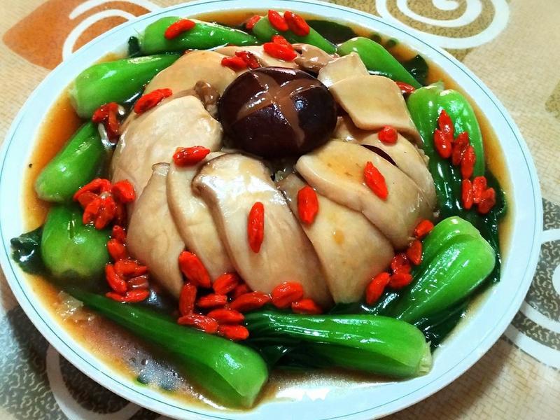 紅燒鮑片滷白菜~宴客菜