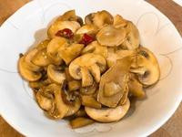 麻香薑爆炒蘑菇~全素