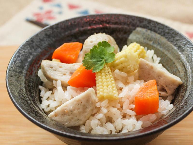 【厚生廚房】魚丸炊飯