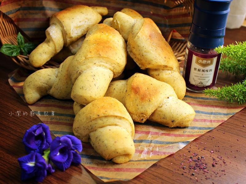 日式紫蘇奶油麵包捲