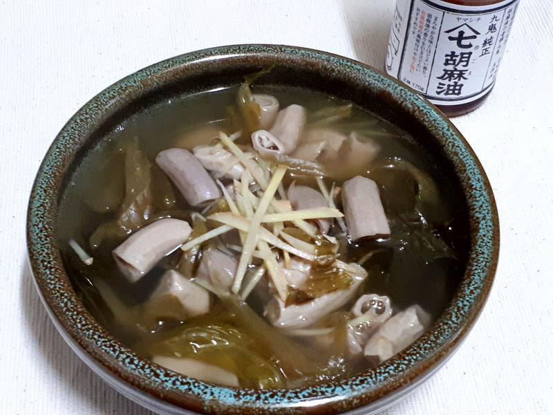 酸菜豬小腸湯