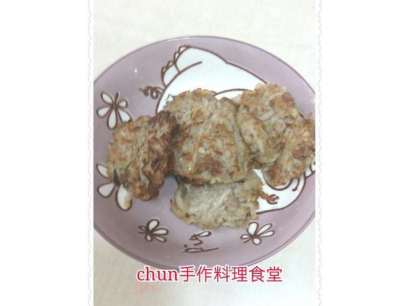 黑松露蘿蔔絲煎餅