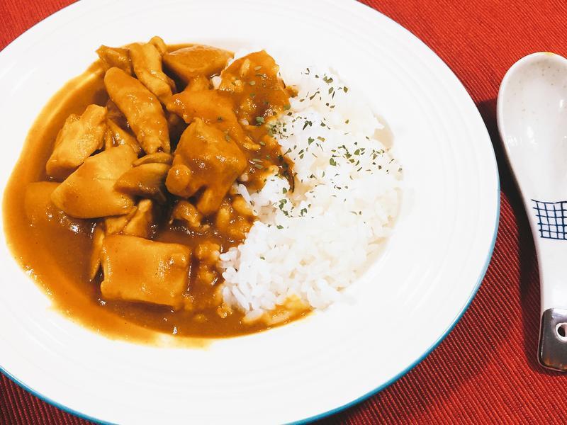 隱形紅蘿蔔日式咖哩雞肉飯