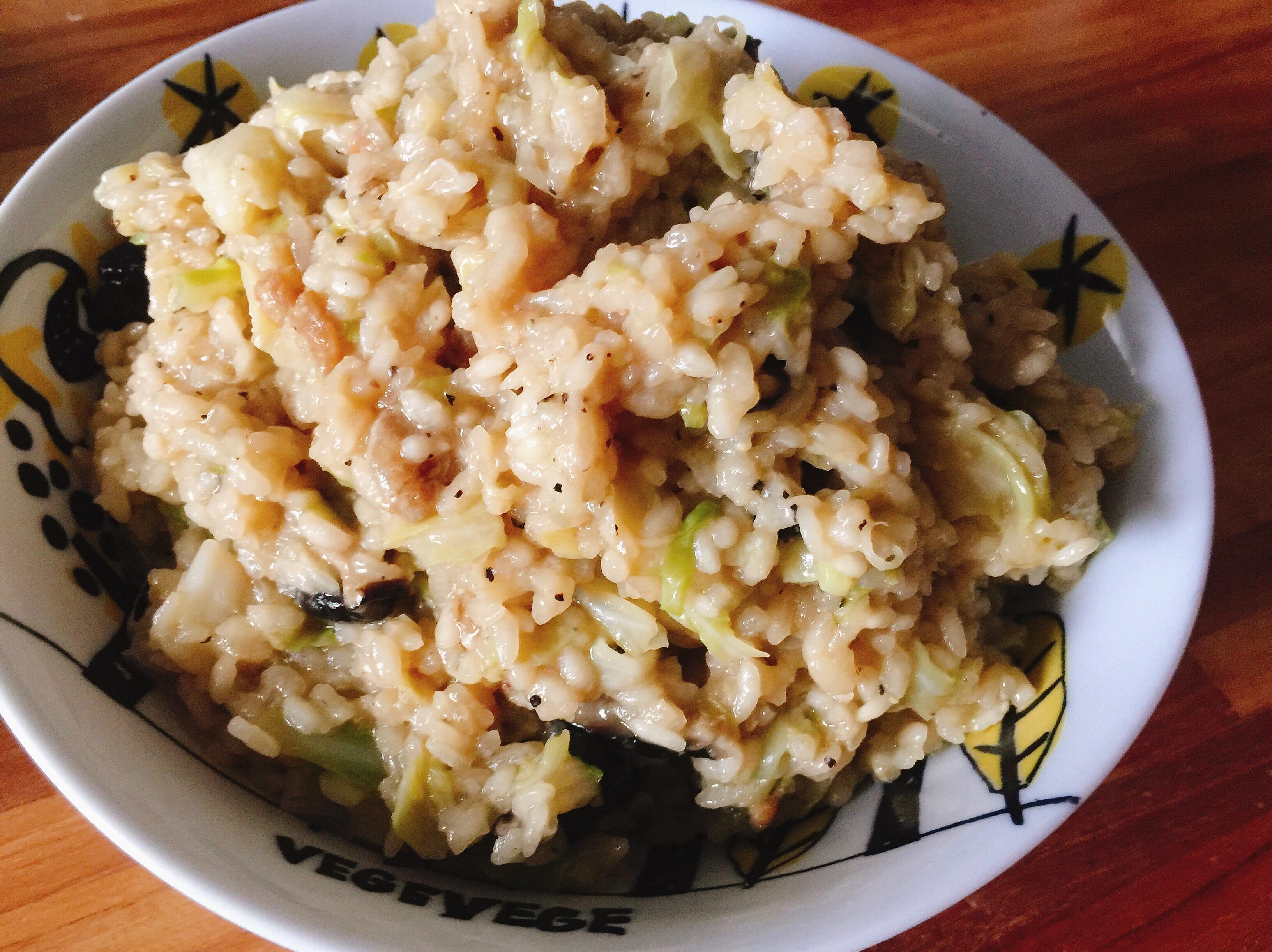 高麗菜燉飯(鑄鐵鍋)