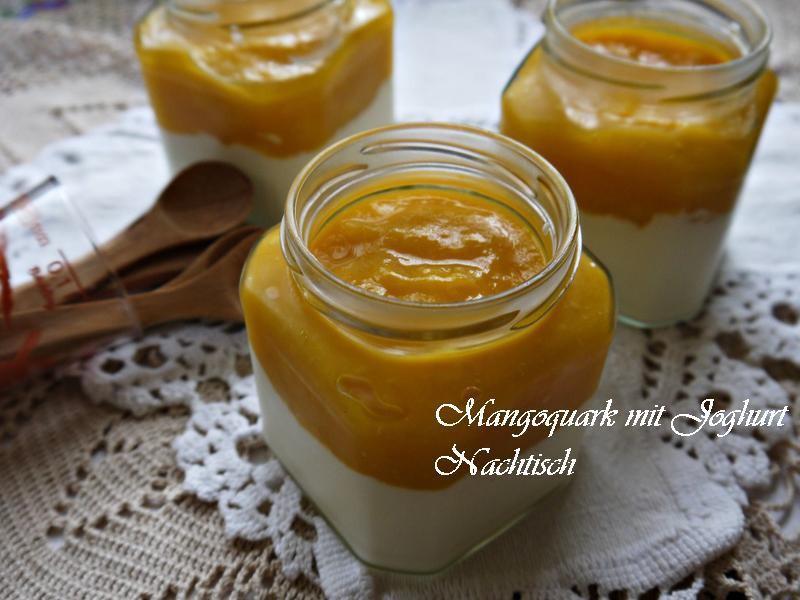 芒果夸克甜點杯