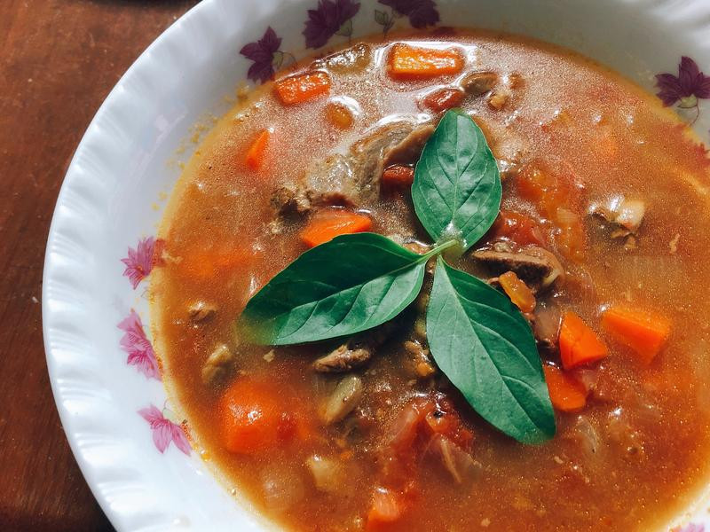 義式蕃茄牛肉湯