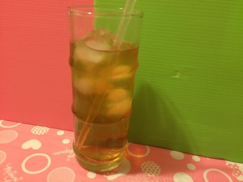 簡易調酒☆伏特加+蘋果西打+葡萄冰茶