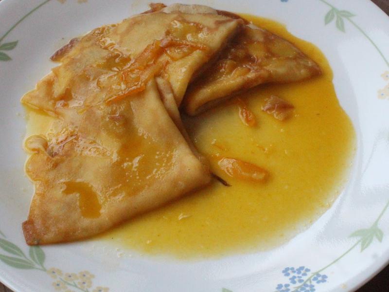 法式橙汁可麗餅