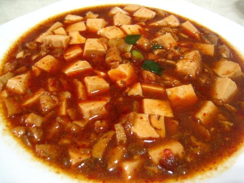 愛烹飪。麻婆豆腐