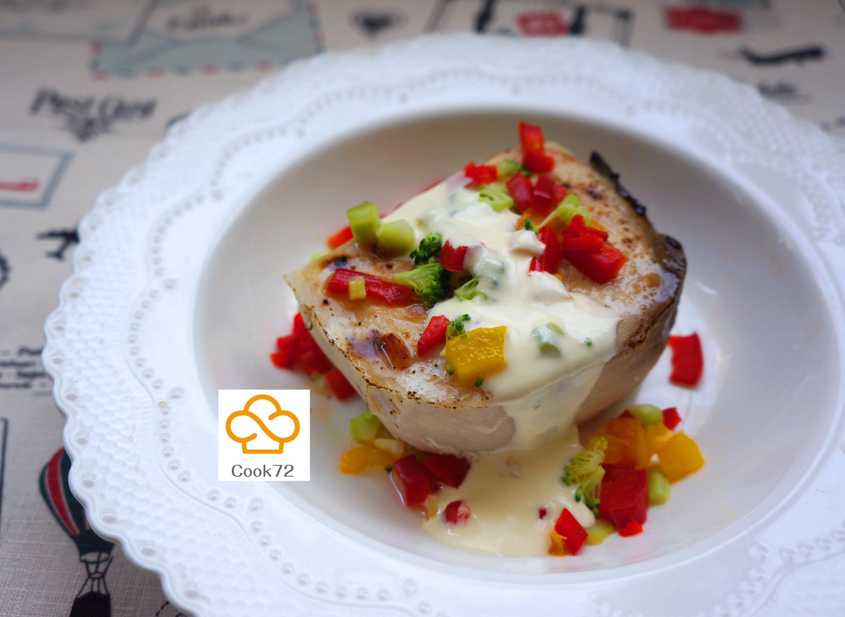 Cook72◎白醬旗魚◎舒肥料理