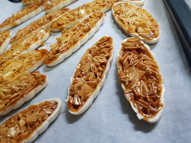 法式杏仁餅(船型糯米殼)