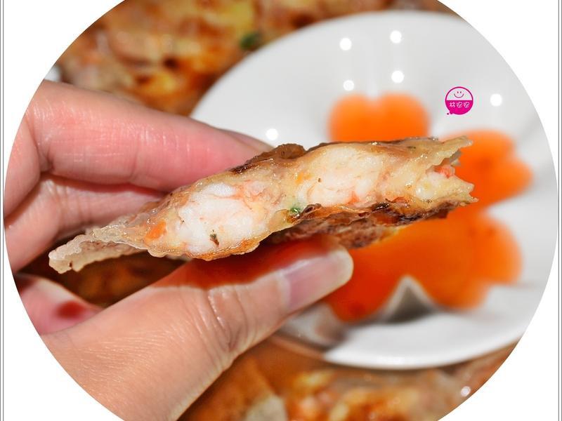 越南春捲皮月亮蝦餅