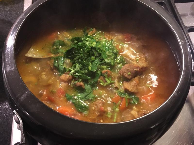 尼泊爾燉羊肉