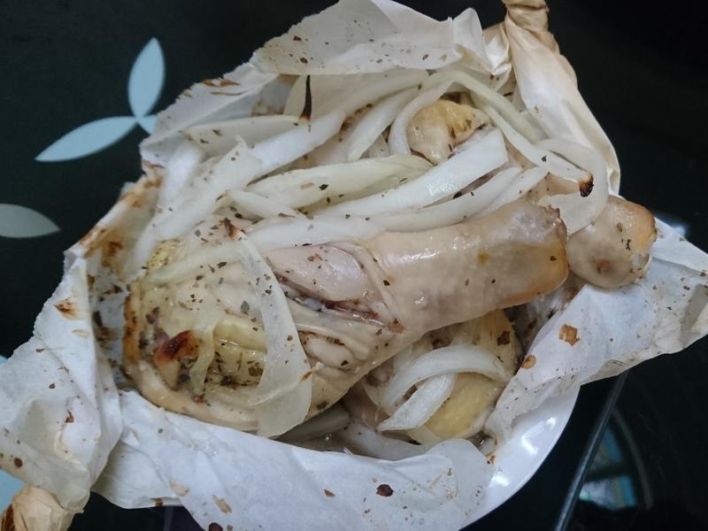簡單香草烤雞腿