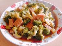素肉醬炒花椰菜
