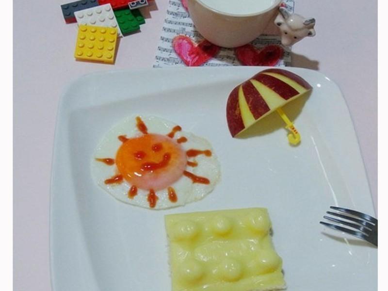 樂高也能吃的早餐