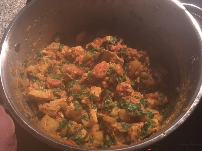 南印度雞肉咖哩
