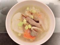日式豬肉蔬菜味噌湯