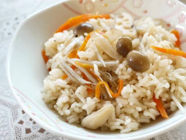日式五目炊飯(素)