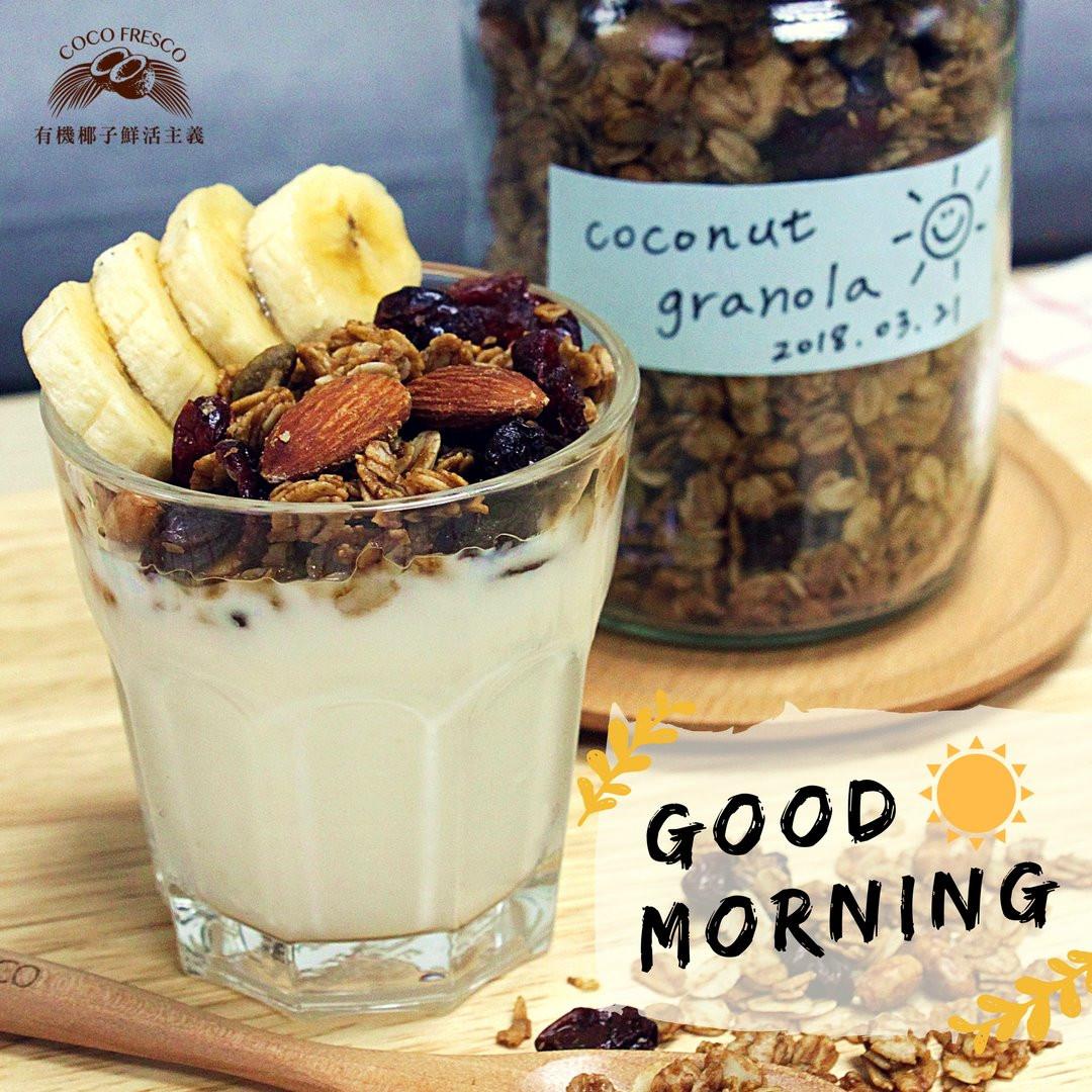 椰子油穀物Coconut Granola