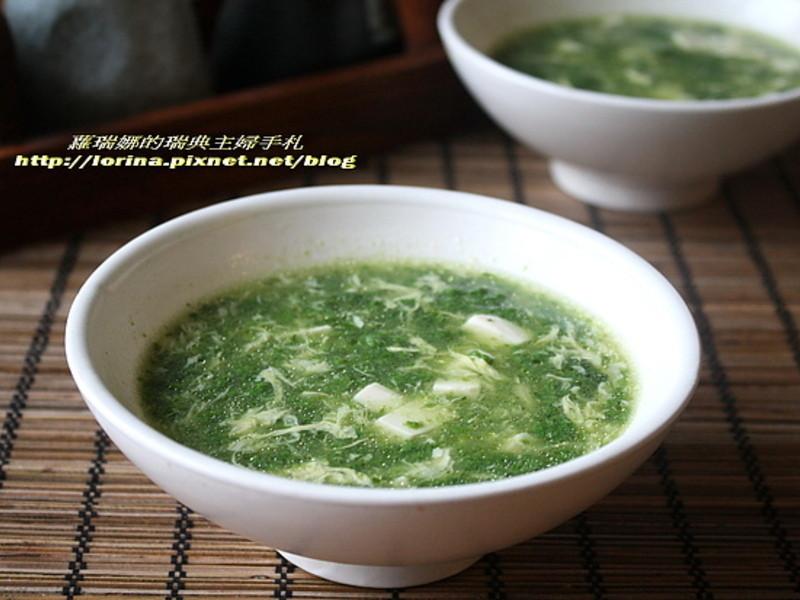 康寶鮮味炒手鰹魚風味~在家做出辦桌菜翡翠白玉羹
