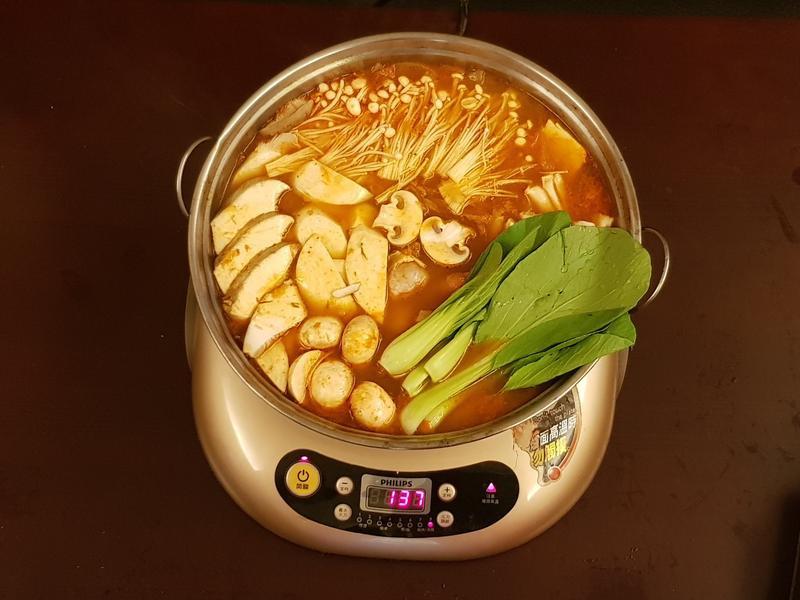 韓式泡菜辣湯