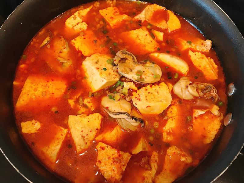 韓式鮮蚵豆腐鍋