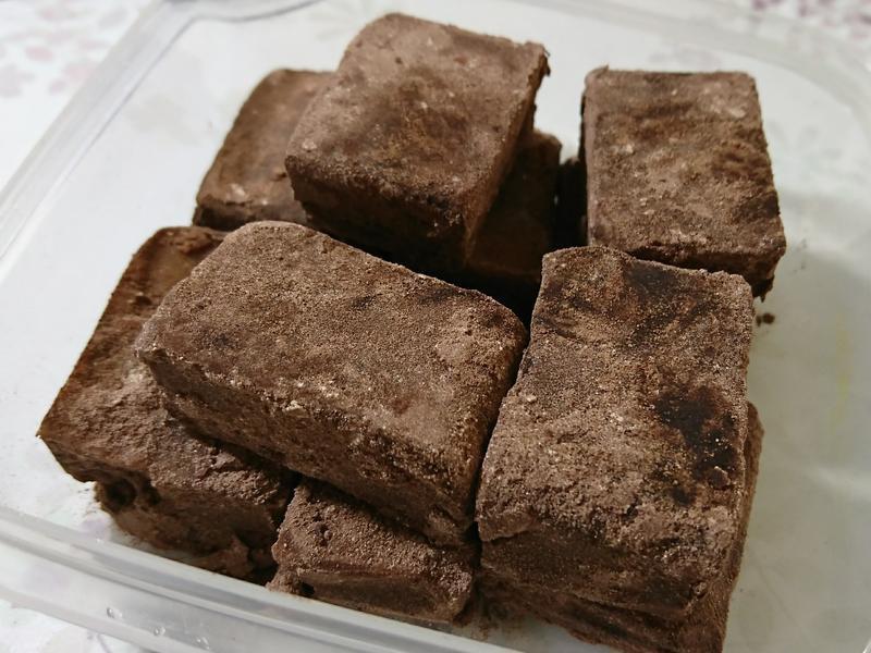 生巧克力(椰子油重甜版)