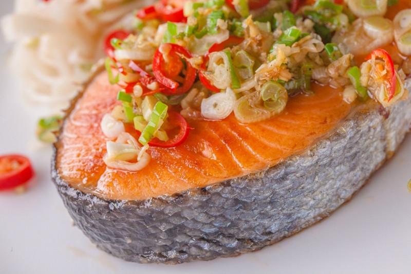 乾煎冷凍國王鮭魚