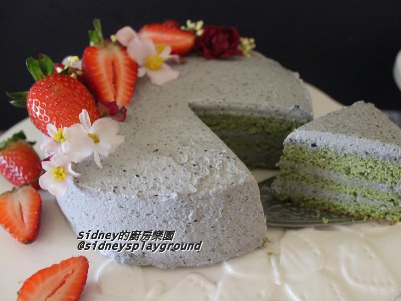 抹茶戚風蛋糕❤️低醣無麵粉