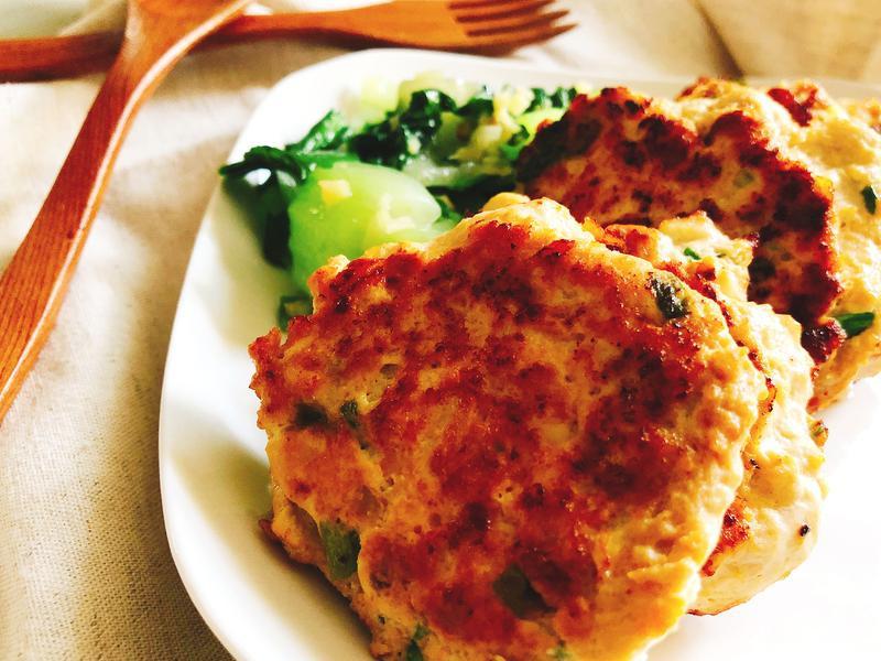 美味減脂餐~雞胸肉豆腐排