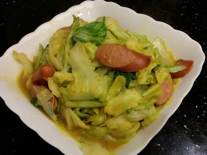 薑黃高麗菜