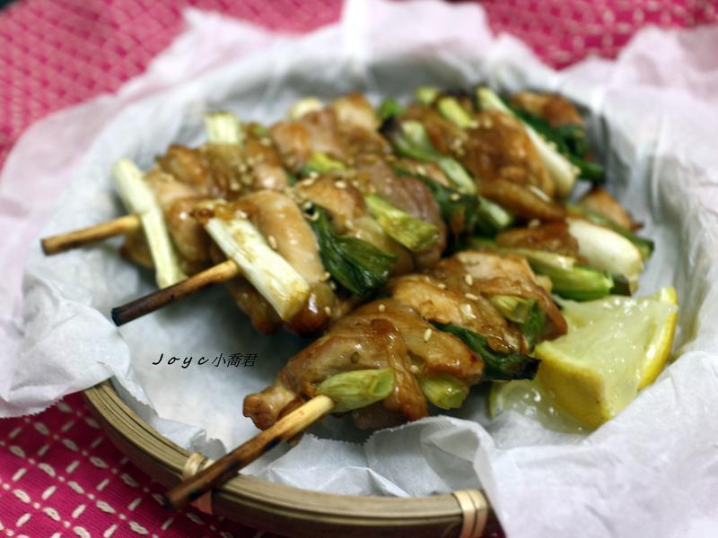 蔥燒烤雞串