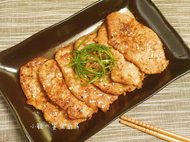 嫩煎里肌肉~超簡易料理