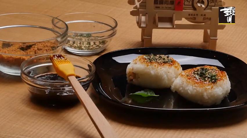 剩飯料理!超簡單有機日式烤飯糰