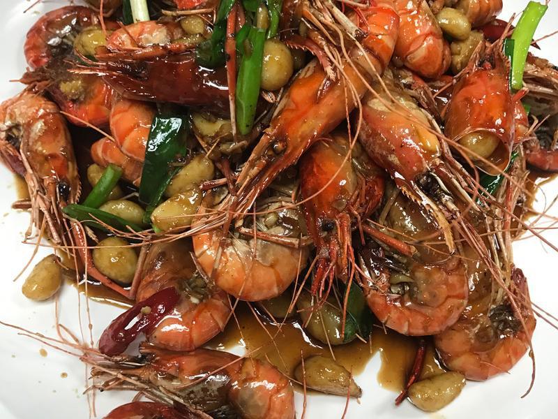 蒜頭泰國蝦