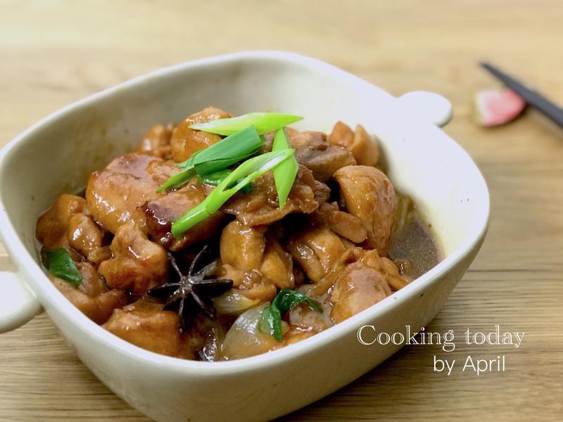 洋蔥紅燒雞腿 · 配飯好菜🍚🥢
