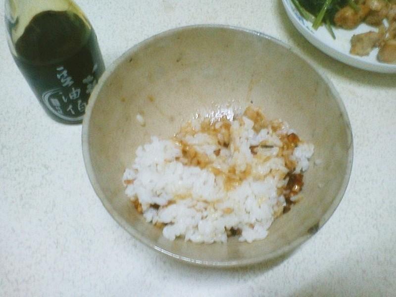 [趁熱品嚐]美味豬油拌飯