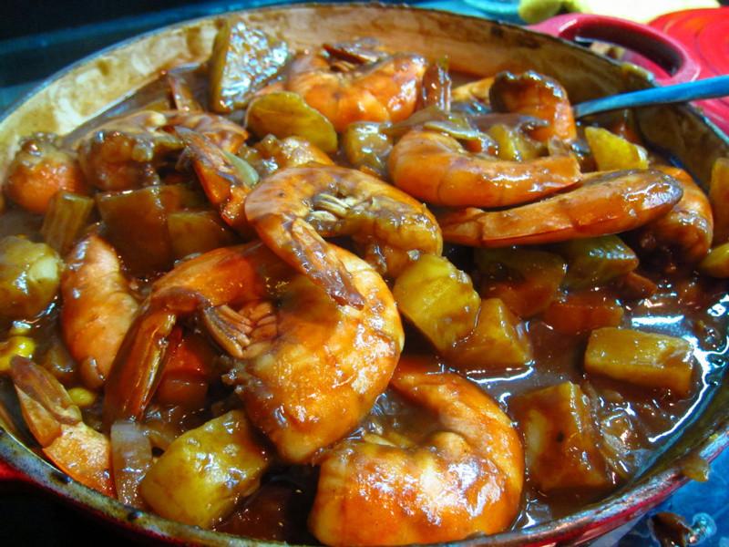 日式咖哩蝦