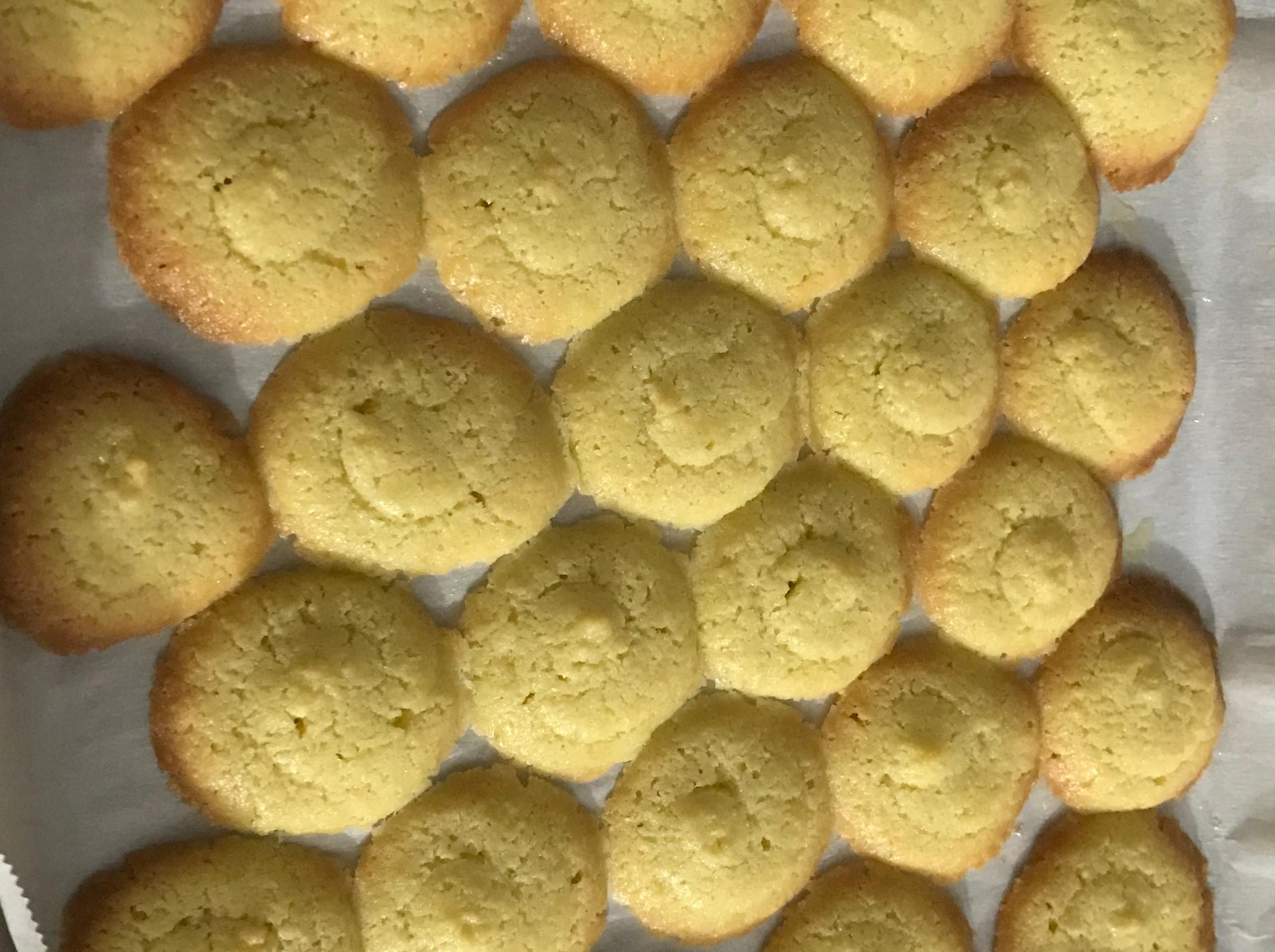生酮-蛋黃餅乾