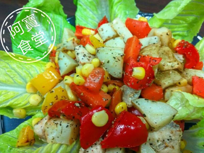 蔬果溫沙拉