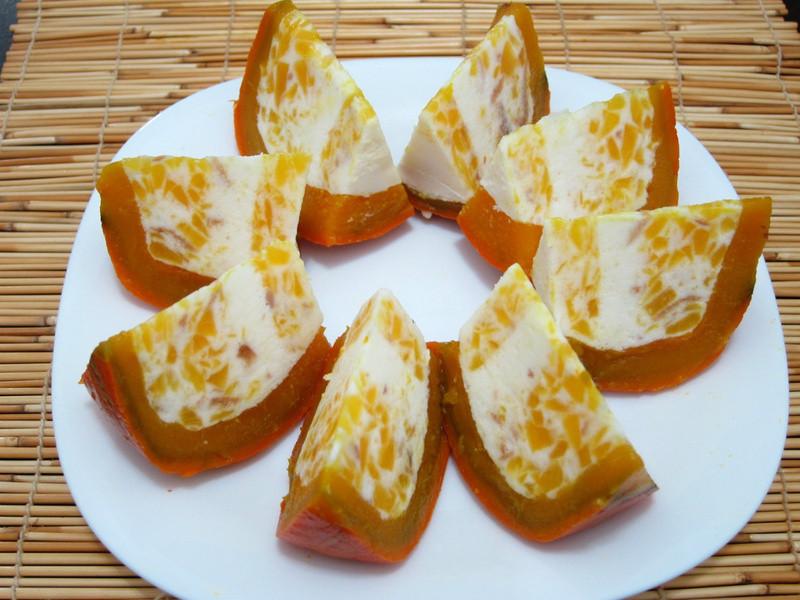 南瓜奶酪甜點