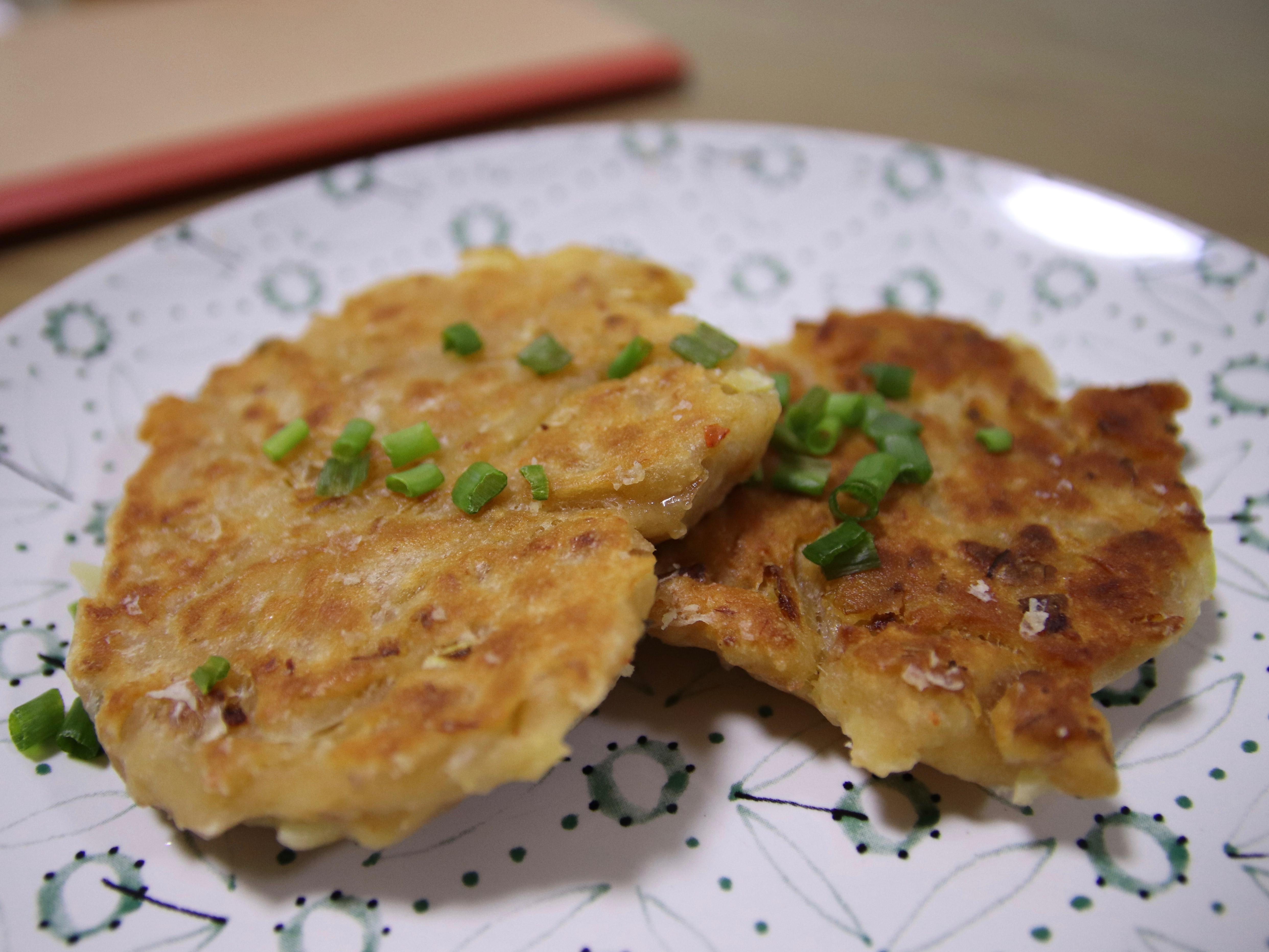 『尹食堂』 泡菜餅
