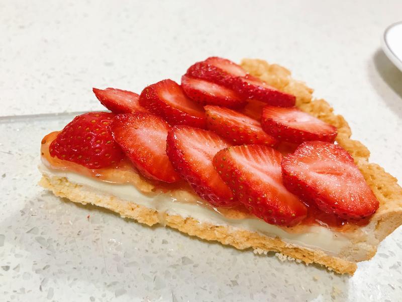 草莓生乳酪塔(8吋
