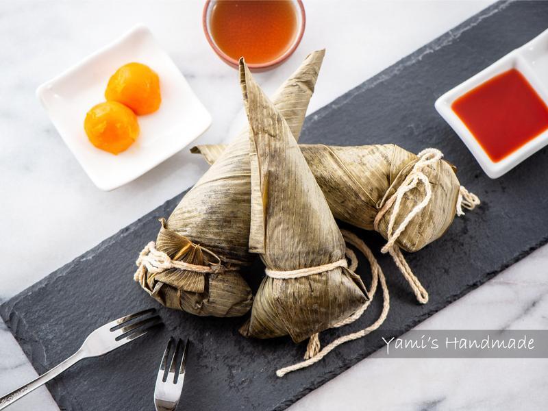 甜筒造型粽子(肉粽)【傳統好味道】