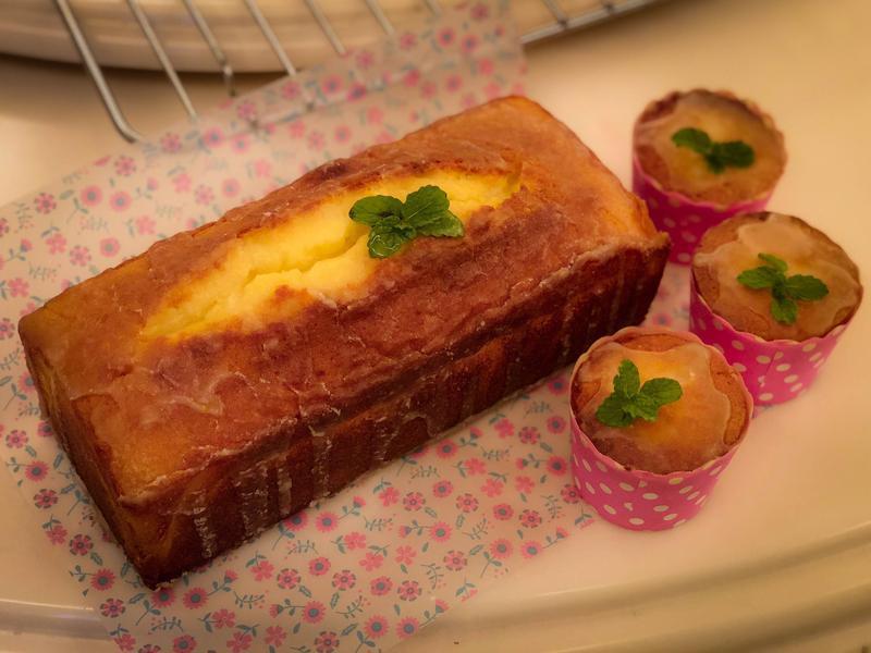 橘子磅蛋糕