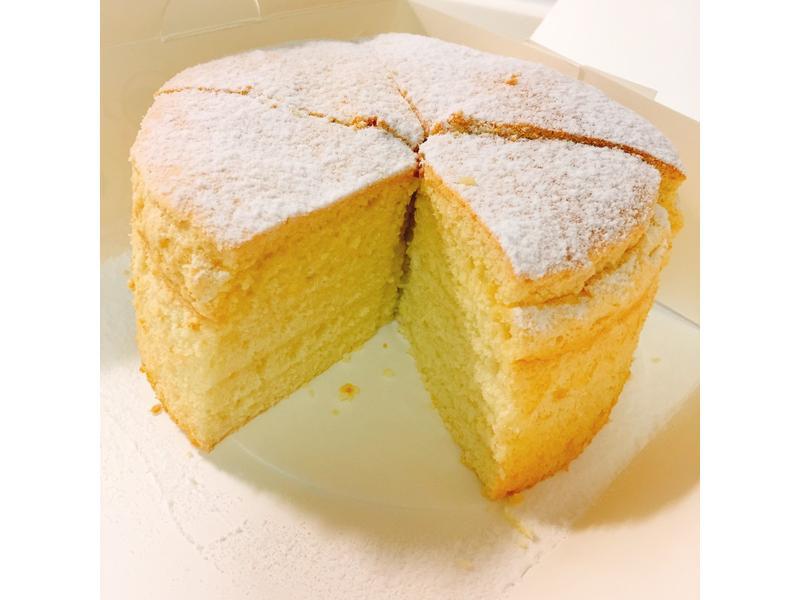 古早味原味蛋糕.六吋