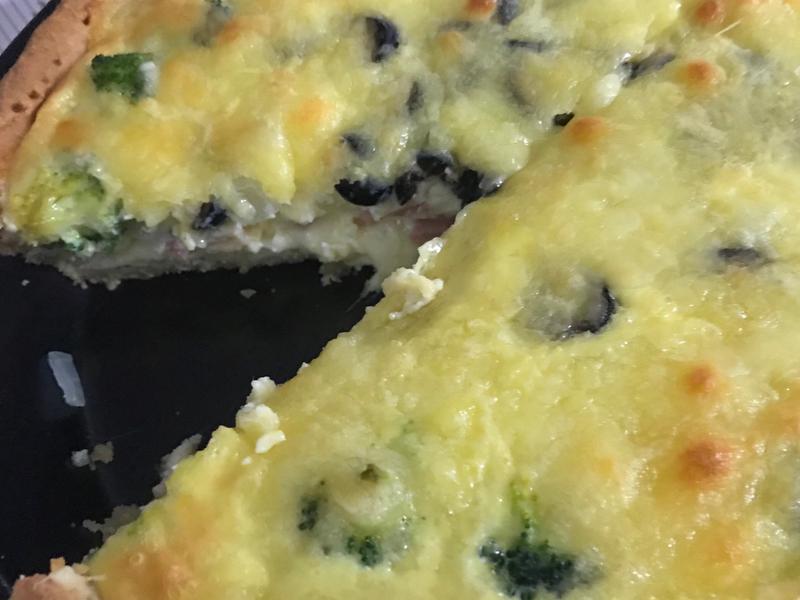 低碳-法式鹹派(8吋披薩烤盤)