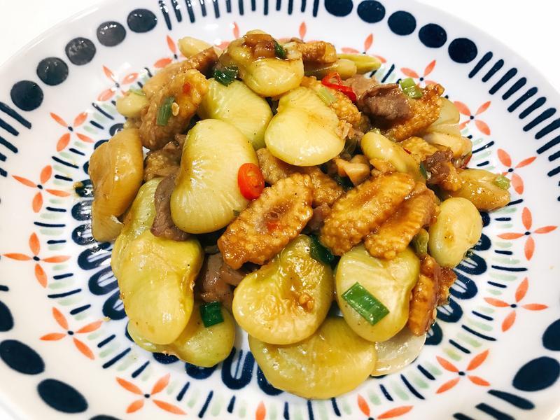 //晚餐桌//醬燒皇帝豆(便當菜)